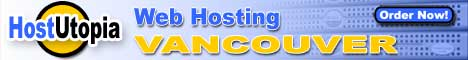 HostUtopia Web Hosting Vancouver BC